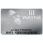 Lil Wayne Electronic Gift Certififcate