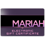 Mariah Carey Electronic Gift Certificate