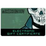 Mike Shinoda Electronic Gift Certificate