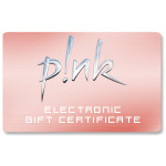 Pink Electronic Gift Certificate
