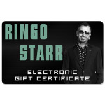 Ringo Starr Electronic Gift Certificate