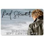 Rod Stewart Electronic Gift Certificates