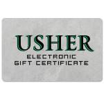 Usher Electronic Gift Certificate