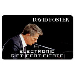 David Foster Electronic Gift Certificate