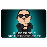 PSY Electronic Gift Certificate