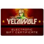 Yelawolf Electronic Gift Certificate