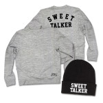 Sweet Talker Sweatshirt + Beanie Hat Bundle