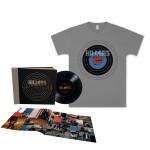 "The Killers Direct Hits Uber Deluxe 5-10"" Vinyl LP Book/T-Shirt Bundle"