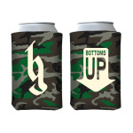 Bottoms Up Logo Coozie