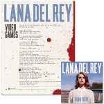 Lana Del Rey Born To Die CD/Litho Bundle