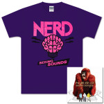 Seeing Sounds CD and Purple Brain T-Shirt Bundle