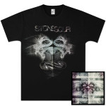 Stone Sour Audio Secrecy CD & T-Shirt Bundle