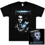 Bundle with Humanoid Deluxe CD and Men's T-Shirt