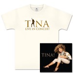Tina! Her Greatest Hits CD and Silhouette Beige T-Shirt