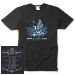 DMB 2012 Winter Tour Dates Shirt