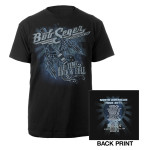 Bob Seger Winged Guitar Black Tee