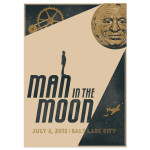 Signed Man in the Moon Poster