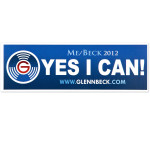 Yes I Can Bumper Sticker