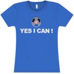 Yes I Can Women's Fashion T-Shirt