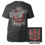 Chickenfoot 4 Faces 2012 Tour Tee