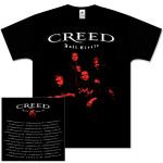 Creed Band Photo Mens Black Tee
