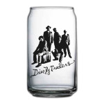 DBT Beer Can Glass