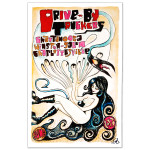 Drive-By Truckers - June 2013 Tour Poster
