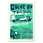 Drive-By Truckers February 13-15, 2014 Athens Poster