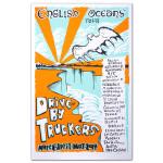 DBT March-April 2014 English Oceans Tour Silkscreen Poster