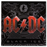 AC/DC Black Ice Album Art Sticker