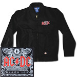 AC/DC Black Ice Embroidered Work Jacket
