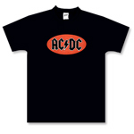 AC/DC - Red Oval Logo