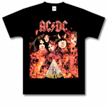AC/DC - Highway To Hell Flaming T-Shirt