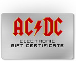 AC/DC Electronic Gift Certificate