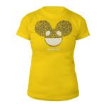 deadmau5 Cheetah Print Logo Junior Tee