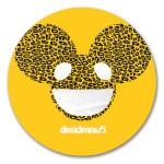 deadmau5 Cheetah Print Logo Sticker