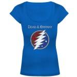 Dead & Company Logo Ladies Tee