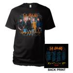 Def Leppard Hysteria Tour Tee