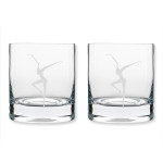 DMB 11oz On The Rocks Firedancer Glass - Set of 2