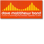 DMB Golden Gate Park Event Sticker