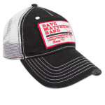 DMB Black Patch Trucker Cap