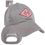 DMB Diamond Contrast Stitch Hat