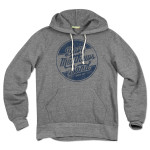 DMB Circle Logo Pullover Grey Hoodie