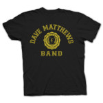 DMB 2014 Collegiate Tee Black/Yellow