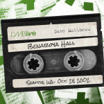 Dave Matthews Benaroya Hall, Seattle, WA 10/24/2002