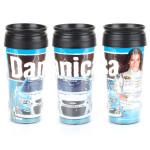Danica Patrick Sprint Cup Car Travel Mug Contour