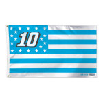 Danica Patrick #10 Stars & Stripes 3'x5' Deluxe Flag