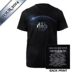 Dream Theater Eclipse Euro 2014 Tour Tee