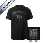 Dream Theater Eclipse World 2014 Tour Tee