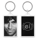 Enrique Portrait Key Chain